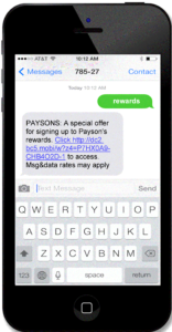 text message promotions 1