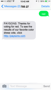 text message promotions 5