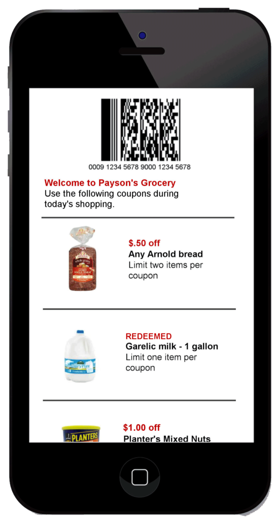 mobile coupon software m-a-r