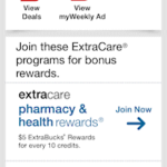 CVS mobile coupon programs 1
