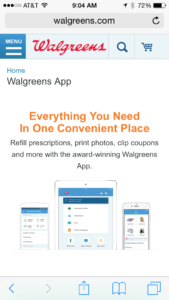Walgreens mobile coupon programs 2