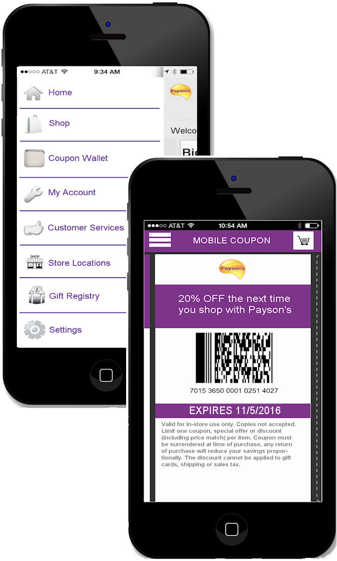 mobile coupon wallet
