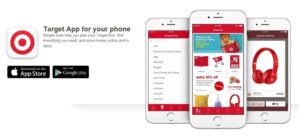 target mobile coupons signup