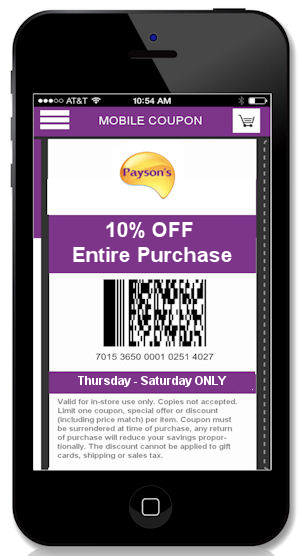 omnichannel promotion mobile coupon