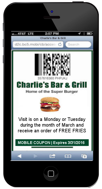CodeBroker Mobile Coupons for Restaurants