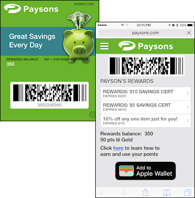 mobile loyalty program software