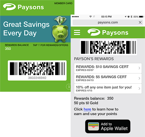 digital loyalty program software mobile loyalty retailers give customers access to rewards, offers, points, from their phone or desktop