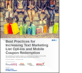 Best Text Message Marketing and Mobile Coupon Whitepapers