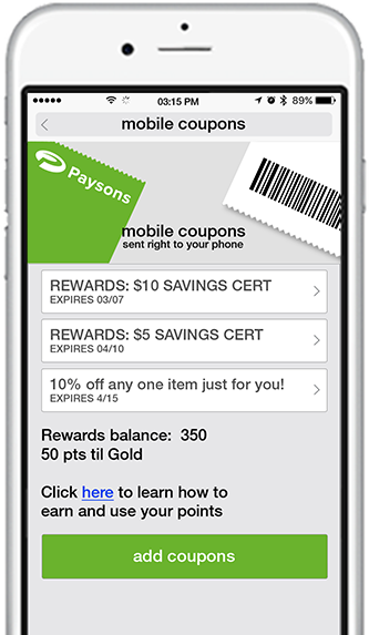 digital coupon wallet helps retailers send consumers mobile coupons, digital offers, and loyalty program rewards