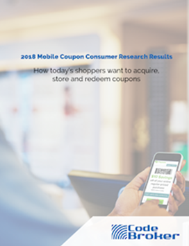 Mobile Coupon Consumer Research Results