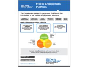 Product Sheet: Mobile Engagement Platform